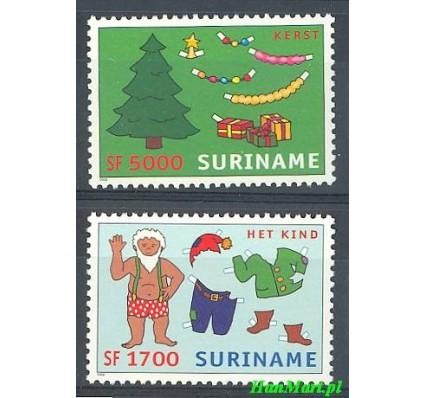Znaczek Surinam 2002 Mi 1845-1846 Czyste **