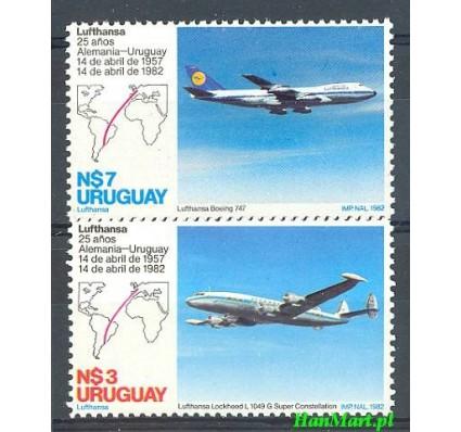 Znaczek Urugwaj 1982 Mi 1644-1645 Czyste **