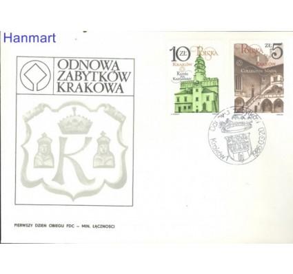 Znaczek Polska 1986 Mi 3016-3017 Fi 2869-2870 FDC