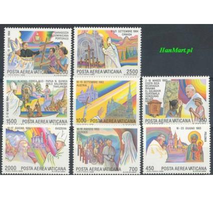 Znaczek Watykan 1986 Mi 899-906 Czyste **