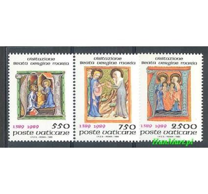Znaczek Watykan 1989 Mi 973-975 Czyste **