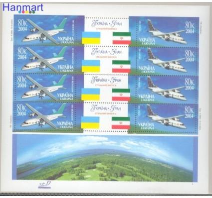 Znaczek Ukraina 2004 Mi ark 686-687 Czyste **