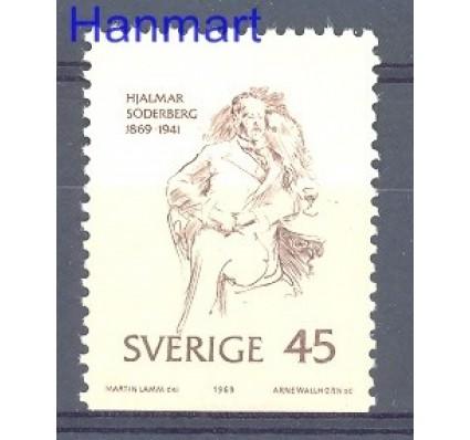 Znaczek Szwecja 1969 Mi 653Du Czyste **