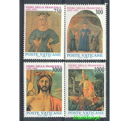 Znaczek Watykan 1992 Mi 1060-1063 Czyste **
