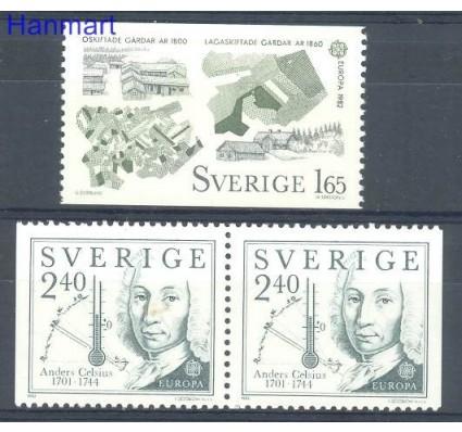 Znaczek Szwecja 1982 Mi 1187-1188 Czyste **