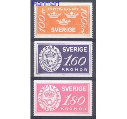 Znaczek Szwecja 1984 Mi 1267-1269 Czyste **