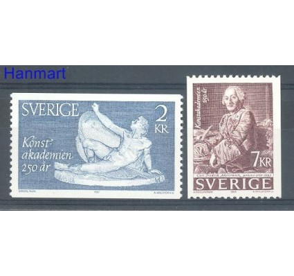 Znaczek Szwecja 1985 Mi 1347-1348 Czyste **
