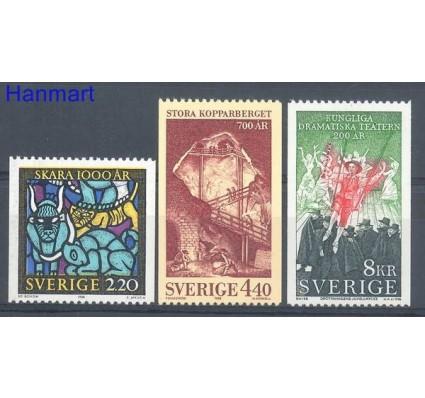 Znaczek Szwecja 1988 Mi 1492-1494 Czyste **