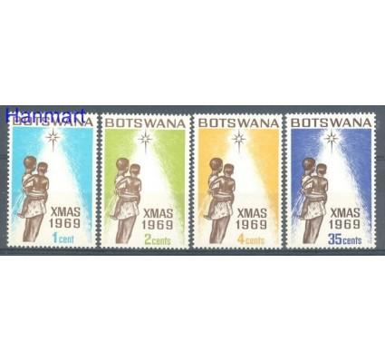 Znaczek Botswana 1969 Mi 54-57 Czyste **