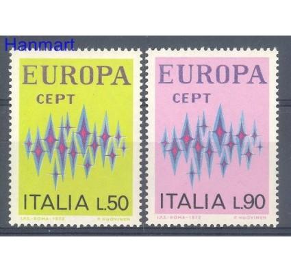 Znaczek Włochy 1972 Mi 1364-1365 Czyste **