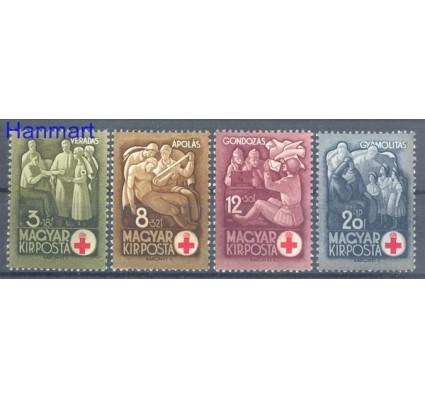 Znaczek Węgry 1942 Mi 691-694 Czyste **