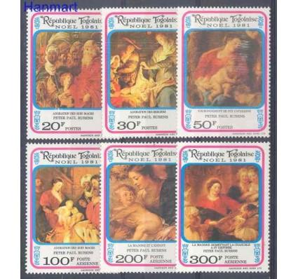 Znaczek Togo 1981 Mi 1565-1570 Czyste **