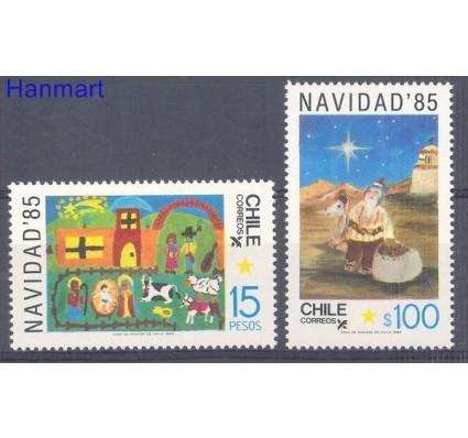 Znaczek Chile 1985 Mi 1104-1105 Czyste **