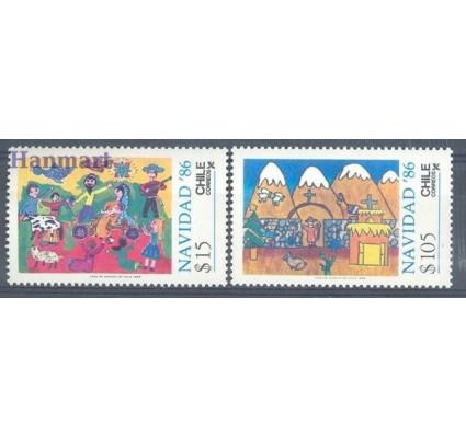 Znaczek Chile 1986 Mi 1149-1150 Czyste **