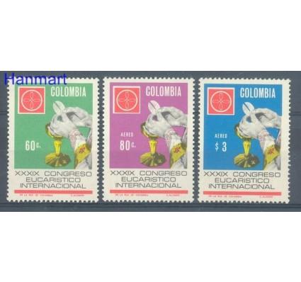 Znaczek Kolumbia 1968 Mi 1122-1124 Czyste **