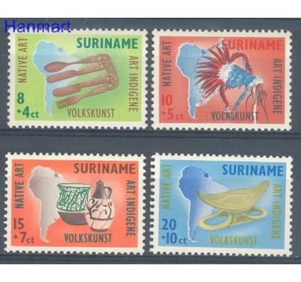 Znaczek Surinam 1960 Mi 371-374 Czyste **