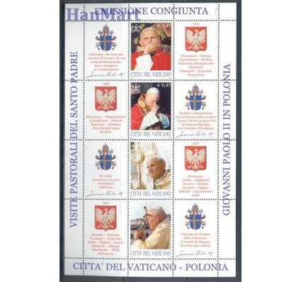 Znaczek Watykan 2004 Mi ark 1474-1481 Czyste **