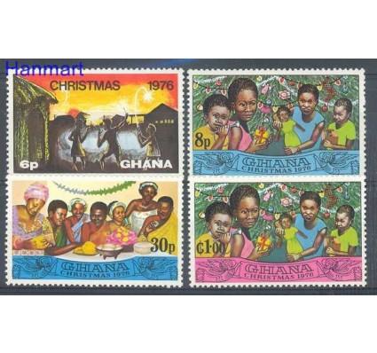 Znaczek Ghana 1976 Mi 670-673 Czyste **