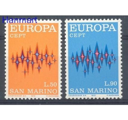 Znaczek San Marino 1972 Mi 997-998 Czyste **