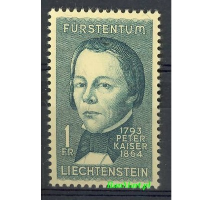 Znaczek Liechtenstein 1964 Mi 448 Czyste **
