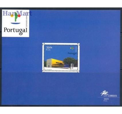 Znaczek Portugalia 2000 Mi bl 162 Czyste **