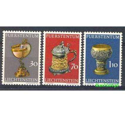 Znaczek Liechtenstein 1973 Mi 587-589 Czyste **