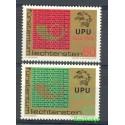 Liechtenstein 1974 Mi 607-608 Czyste **