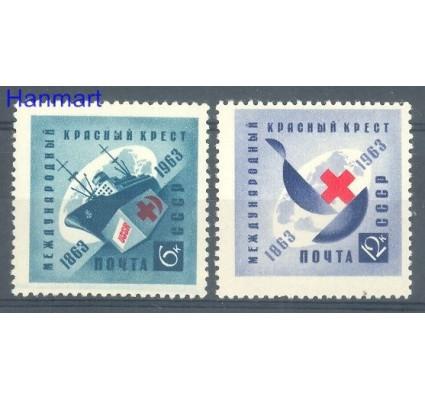 Znaczek ZSRR 1963 Mi 2787-2788 Czyste **