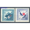 ZSRR 1963 Mi 2787-2788 Czyste **