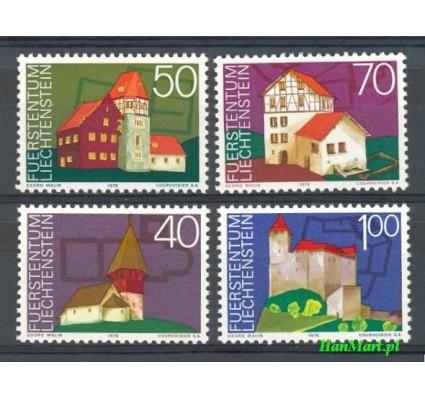 Znaczek Liechtenstein 1975 Mi 630-633 Czyste **