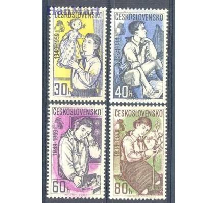 Znaczek Czechosłowacja 1959 Mi 1127-1130 Czyste **