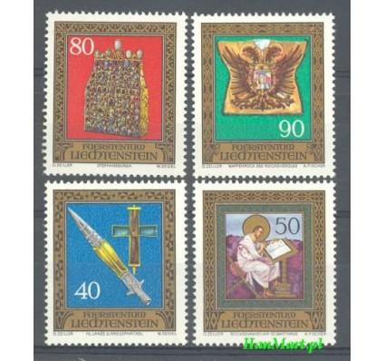 Znaczek Liechtenstein 1977 Mi 673-676 Czyste **