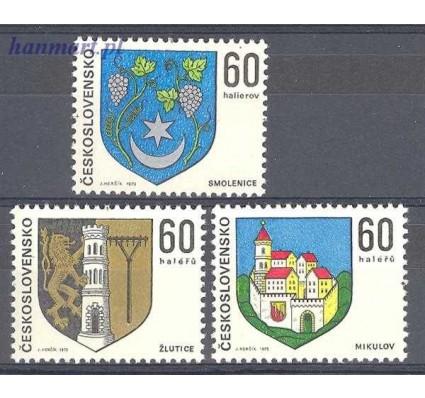Znaczek Czechosłowacja 1973 Mi 2144-2146 Czyste **