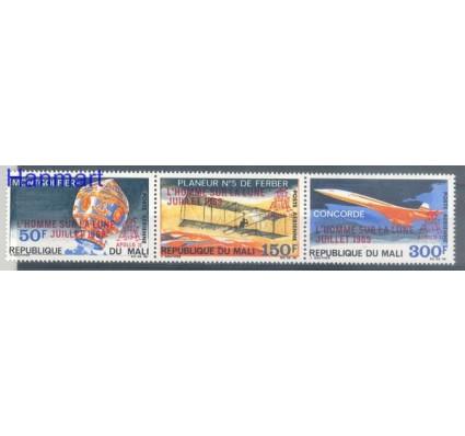 Znaczek Mali 1969 Mi 201-203 Czyste **