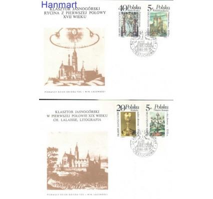 Znaczek Polska 1986 Mi 3038-3041 Fi 2890-2893 FDC