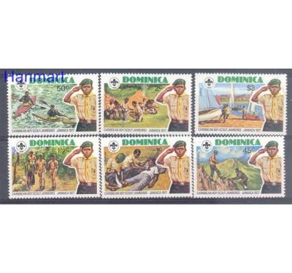 Znaczek Dominika 1977 Mi 538-543 Czyste **