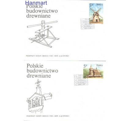 Znaczek Polska 1986 Mi 3060-3065 Fi 2912-2917 FDC