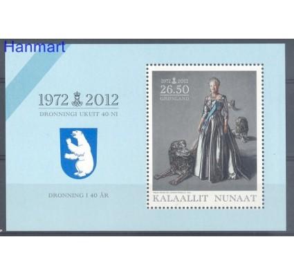 Znaczek Grenlandia 2012 Mi bl 56 Czyste **