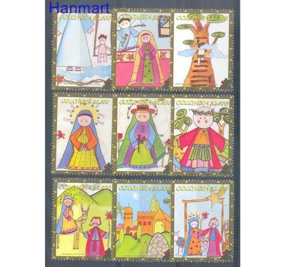 Kolumbia 2004 Mi 2347-2355 Czyste **