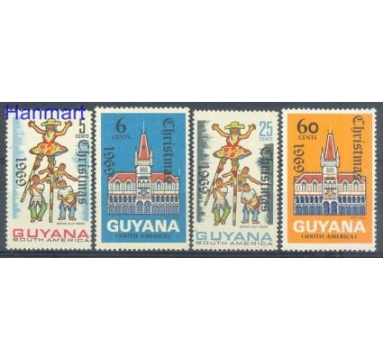 Znaczek Gujana 1969 Mi 364-367I Czyste **