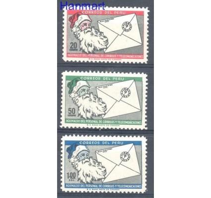 Znaczek Peru 1969 Mi 742-744 Czyste **