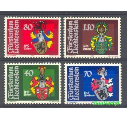 Znaczek Liechtenstein 1982 Mi 793-796 Czyste **