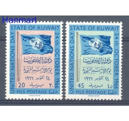 Znaczek Kuwejt 1966 Mi 331-332 Czyste **