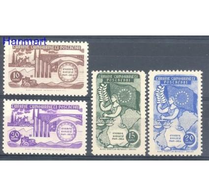 Znaczek Turcja 1954 Mi 1391-1394 Czyste **