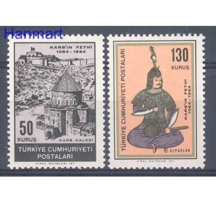 Znaczek Turcja 1964 Mi 1915-1916 Czyste **