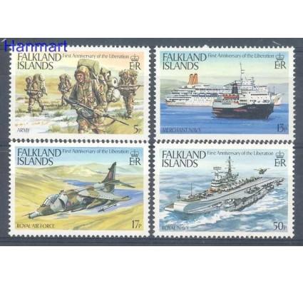 Znaczek Falklandy 1983 Mi 378-381 Czyste **