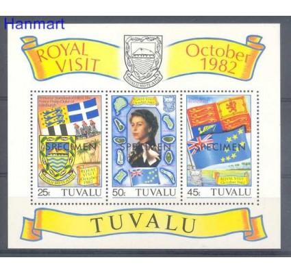 Znaczek Tuvalu 1982 Mi spebl 7 Czyste **