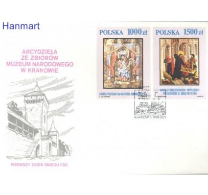Znaczek Polska 1991 Mi 3306-3311 Fi: 3158-3163 FDC