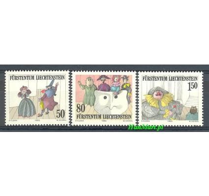 Znaczek Liechtenstein 1985 Mi 887-889 Czyste **