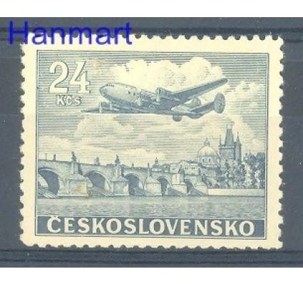 Znaczek Czechosłowacja 1946 Mi 492 Czyste **